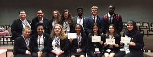 Swamp Owls Clean Up at HOSA