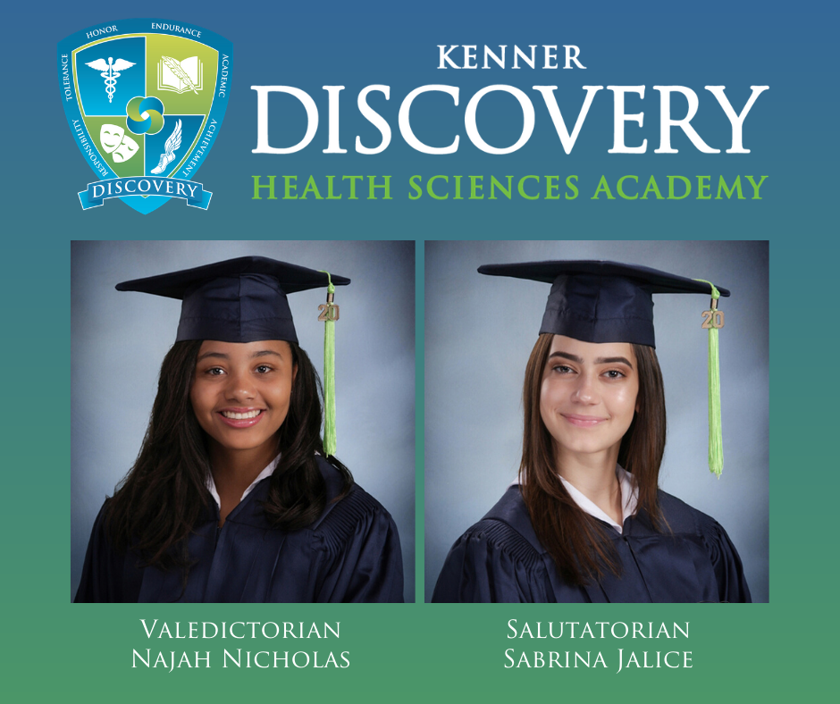 Kenner Discovery Class of 2020