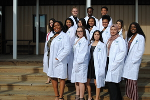 Kenner Discovery Biomedical Students White Coat Ceremony