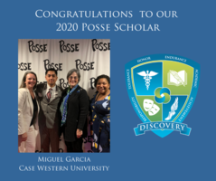 Senior Awarded Prestigious Posse Scholarship