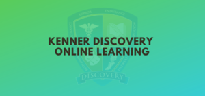 Kenner Discovery Online Learning Plan