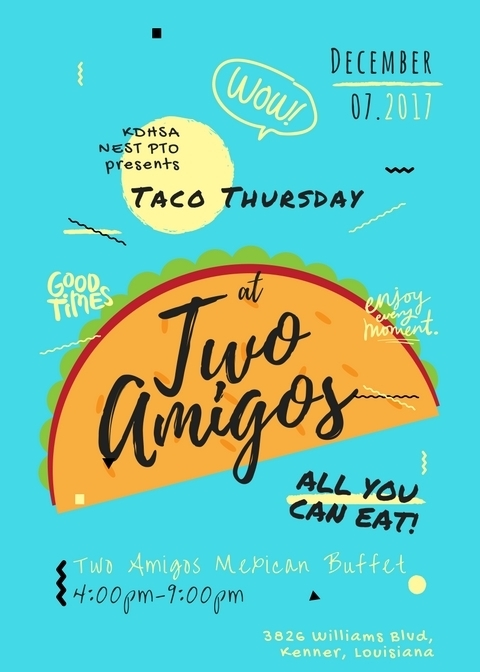 Taco Thursday-Two Amigos