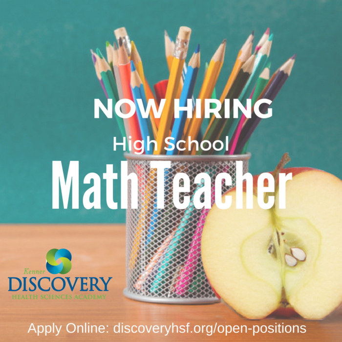 Math Teacher Position